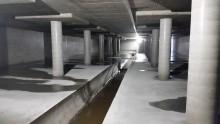 Invigning av underjordisk bassäng i Djupadalsparken