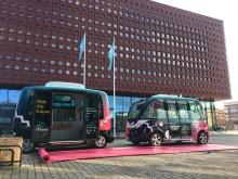 Sverigepremiär för två olika självkörande fordon i Linköping