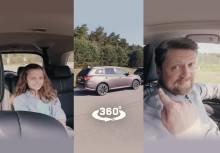 Virtuelle 360°-Probefahrt von Mitsubishi im Plug-in Hybrid Outlander jetzt noch realistischer