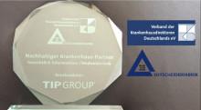 Urkunde für TIP GROUP