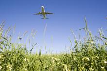 Kvot för biobränsle minskar flygets klimatpåverkan