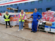 Fred. Olsen Cruise Lines named 'Unsung Hero' at Scottish Passenger Agents' Association Awards after £33,000 food donation
