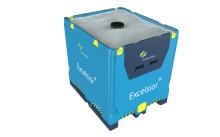 ComboExcelsior® - en ny hoppfällbar IBC anpassad internationell logistik.