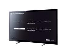 Auf digitales Satelliten-Fernsehen perfekt eingestellt: BRAVIA LCD-Fernseher von Sony