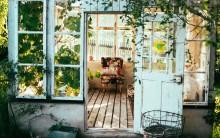 Forlæng sommeren med et orangeri eller et drivhus