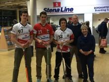 Das deutsche Floorball-Team reist entspannt mit Stena Line zur Weltmeisterschaft 2014 nach Göteborg
