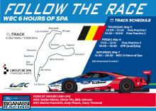 Ford GT står over for sidste store test inden Le Mans