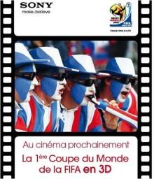 Avec Sony, la Coupe du Monde s'invite en 3D dans les cinémas français