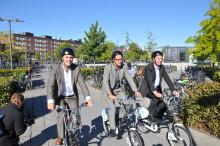 Uppsala först i landet med SJ-cykel till och från tåget