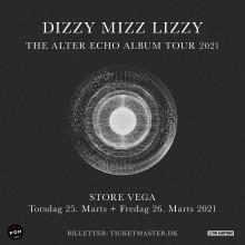 Dizzy Mizz Lizzy i intime rammer