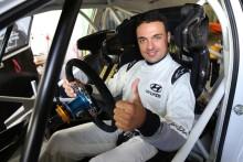 Bouffier er testfører for Hyundai Motorsport