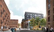 Stort steg i utvecklingen av nya området Skeppskajen i Uppsala