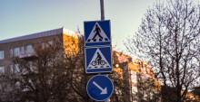 Bilar ska stanna för cyklister vid 20 nya cykelöverfarter i Helsingborg