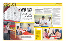 A DAY IN THE LIFE of a first-year MDIS student