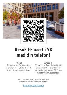 Besök H-huset i VR