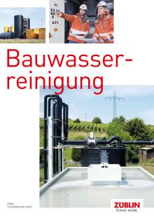 ZÜBLIN Umwelttechnik: Bauwasserreinigung