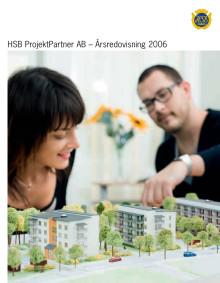 Årsredovisning 2006- HSB ProjektPartner AB