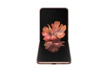Med den foldbare smartphone Galaxy Z Flip 5G kombinerer Samsung innovativt design med hastigheden fra 5G