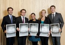 Tre innovativa studentlag vinner 100 000 kronor