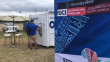 Bluewater helps keep folks hydrated at world's toughest mountain bike event near Cape Town