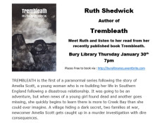Meet Ruth Shedwick, author of Trembleath