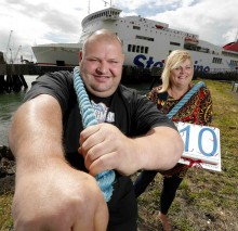 Stena Line and Ultimate Strongman celebrate 10 years in partnership