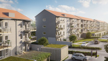 Nu startar försäljningen av 60 gröna lägenheter i Upplands Väsby
