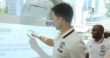 Manchester United Legends Meet Fans in Singapore with Epson