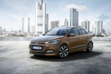 Bilder av Hyundais nye i20