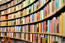 Book sale at Forres Library