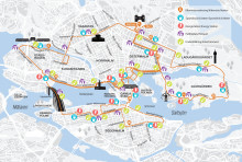Karta ASICS Stockholm Marathon 2019