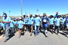Discovery Health Sports Heroes Walk Against HIV/AIDS
