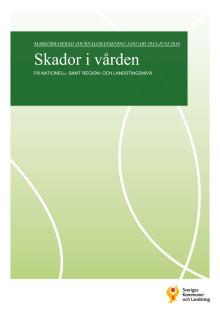 Skador i vården - markörbaserad journalgranskning jan 2013 - jun 2016
