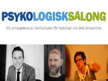 Mattias Lundberg leder vårens sista Psykologisk Salong i Umeå den 3 maj