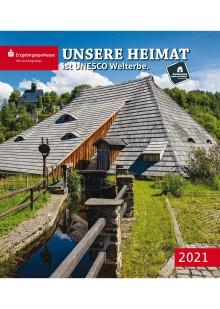 """Heimatkalender 2021 """"Unsere Heimat ist UNESCO Welterbe"""" - Gemeinschaftsprojekt der Erzgebirgssparkasse und des Tourismusverbandes Erzgebirge e.V."""