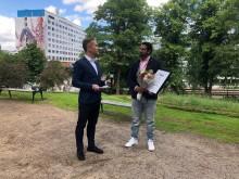 Nadim Ghazale är årets Boråsambassadör 2020