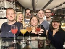 Gastronomistudenter skapar framtidens drycker med goda bakterier och skånska råvaror
