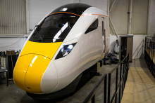 Hitachi donates cab of new generation high speed train to National Railway Museum