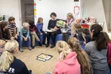 Bundesweiter Vorlesetag auch in der Grundschule Louisenlund
