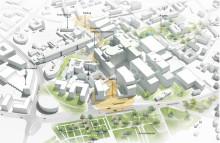Nytt huvudblock på sjukhusområdet