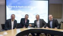 Scania und Northvolt entwickeln Batteriezellen  für schwere Lkw und Busse