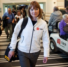 Falck's crisis team returns from Brussels