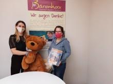 TK Maxx unterstützt Bärenherz mit einer Spende aus dem Corona Found