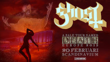 Ghost till Scandinavium 2019!