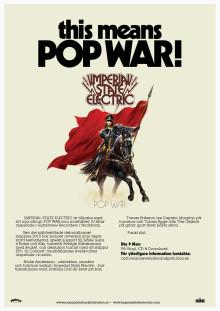 "IMPERIAL STATE ELECTRIC - nytt album ""Pop War"" ute 9 Mars!"