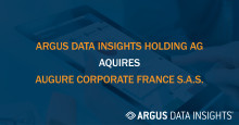 ARGUS DATA INSIGHTS Holding AG acquires Augure Corporate France S.A.S., adding PR- and communication workflow software to its media monitoring and analysis offering