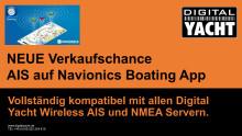 Händler Verkaufschance - AIS auf Navionics Segeln App mit Digital Yacht