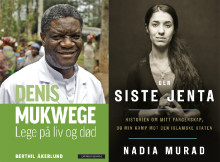 Nobels fredspris 2018 tildeles Cappelen Damm-forfatterne Nadia Murad og Denis Mukwege
