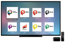 P4 lanserer digitalradio på Apple TV