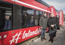 Kroatiens ambassadör möter upp Inlandsbanans nya tåg i Svenstavik